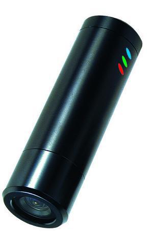 Видеокамера видеонаблюдения цилиндрическая миниатюрная.